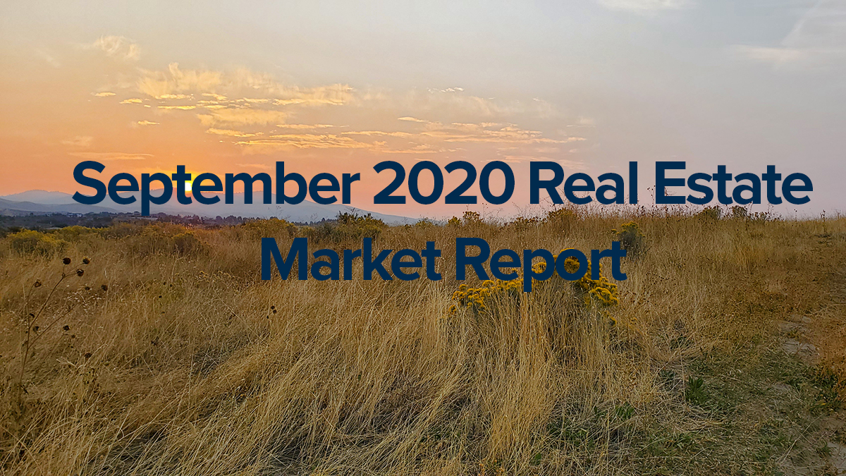 September Boise Market Stats Idaho