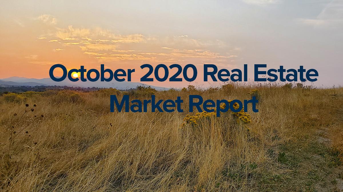 October Real Estate Stats Boise